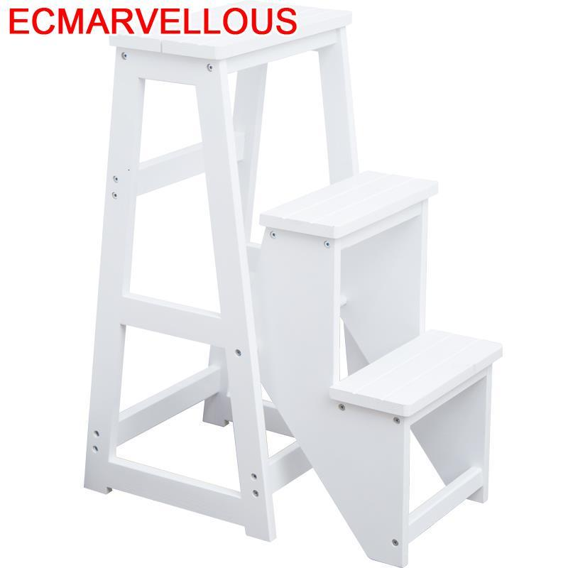 Folding Escalera Escalon Plegable Kitchen Bathroom For Elderly Scaletta Legno Escaleta Escabeau Merdiven Stool Step Ladder Step Stools Step Ladders Aliexpress