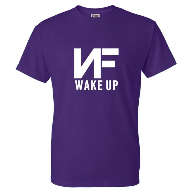 NF WAKE UP Fashion Streetwear T-shirt  1