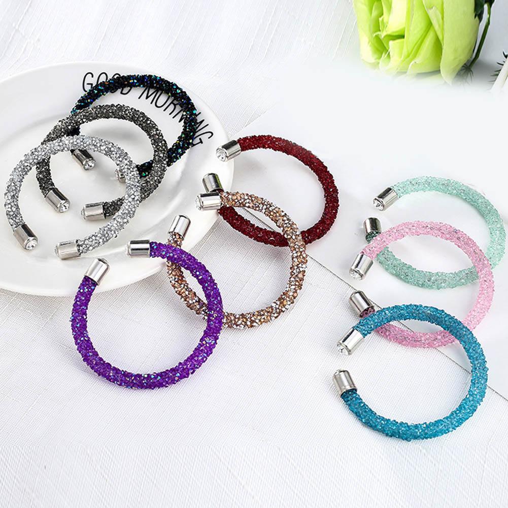 Bracelet Brand Bangles Jewelry Gift Women Crystal-Cuff for Bijoux New-Fashion Pulseira