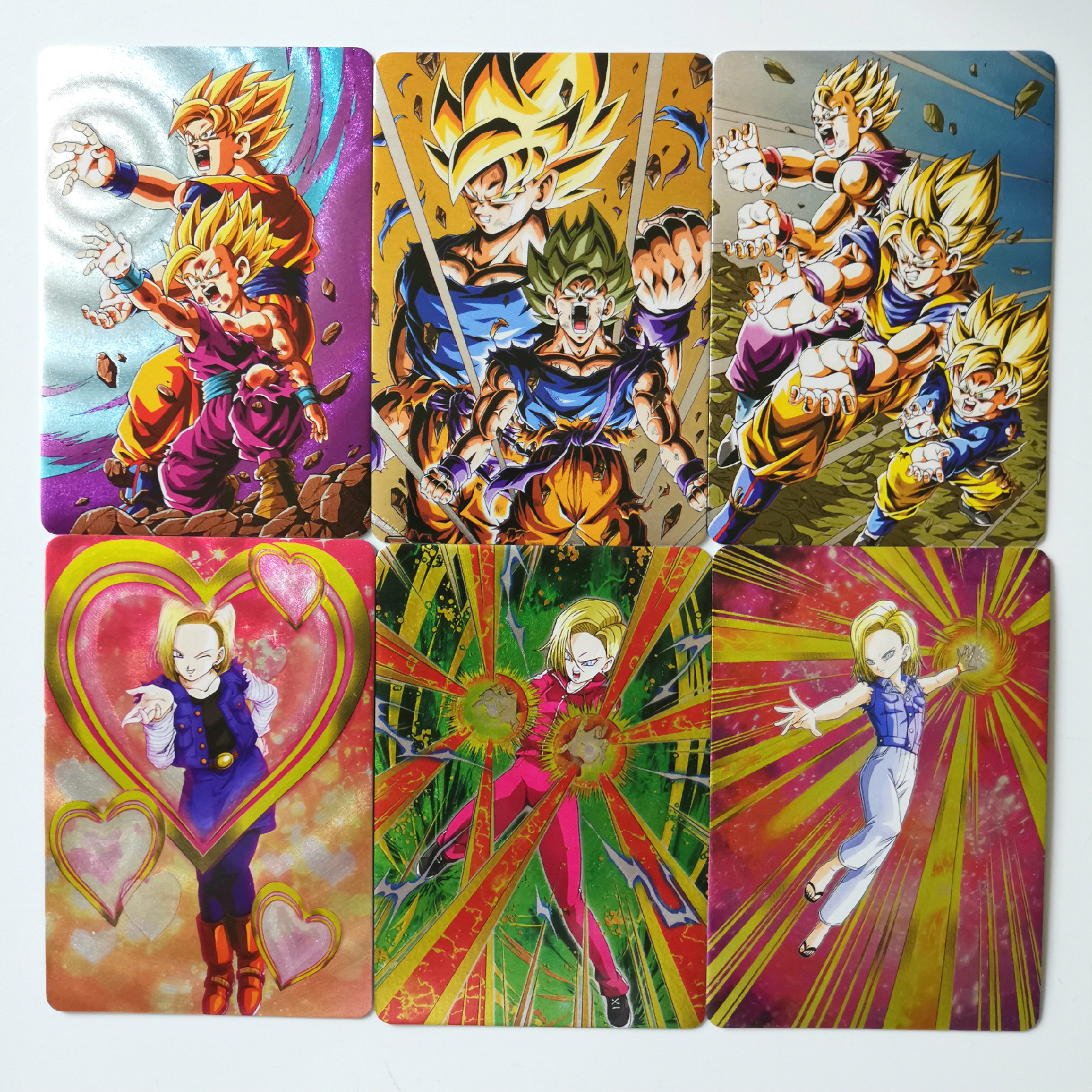 18pcs/set Super Dragon Ball Z Heroes Battle Card Ultra Instinct Goku Toys Hobbies Hobby Collectibles Game Collection Anime Cards