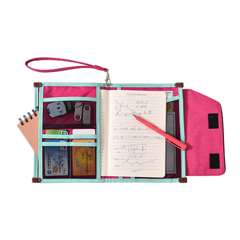 Multifunction Document Organizer Office Manage School Study Writing Pads Student Notebooks Pencil Case Business Travel Supplies