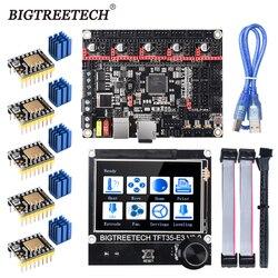 BIGTREETECH BTT SKR V1.4 SKR V1.4 Turbo Placa de Control de 32 bits TFT35 E3 V3.0 pantalla táctil TMC2209 2208UART Actualización del controlador SKR V1.3