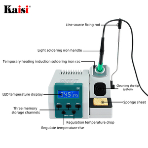 Image 4 - SUGON T26 Soldering Station Lead free 2S Rapid Heating Soldering Iron Kit JBC handle universal 80W Power Heating System