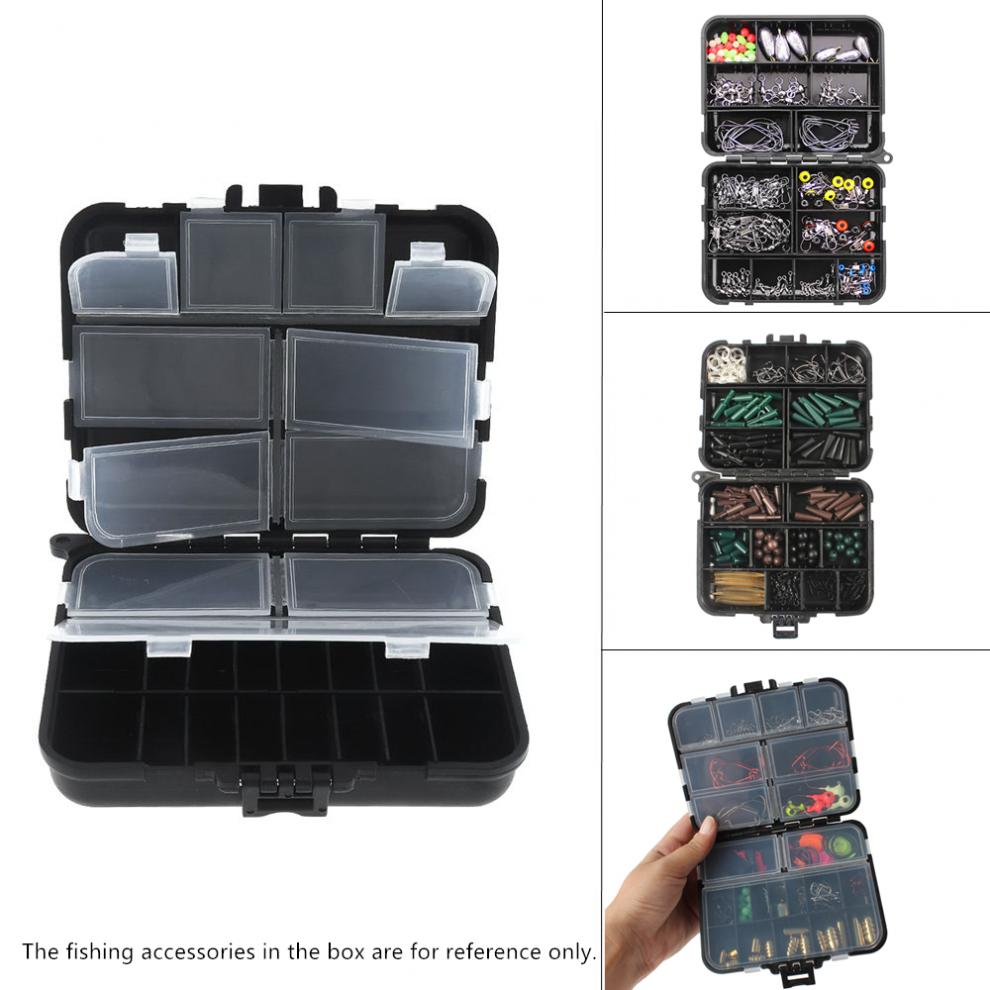 Double-sided WATERPROOF Carp Coarse Fishing Tackle Lures Accessories Storage Box