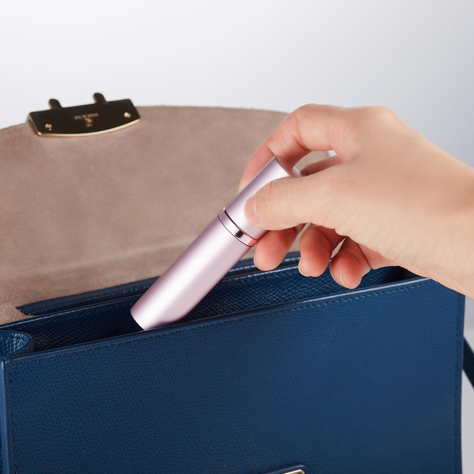 Closeout DealsTonkinten Perfume-Bottle Refillable Aluminum-Container Travel Mini 5ml