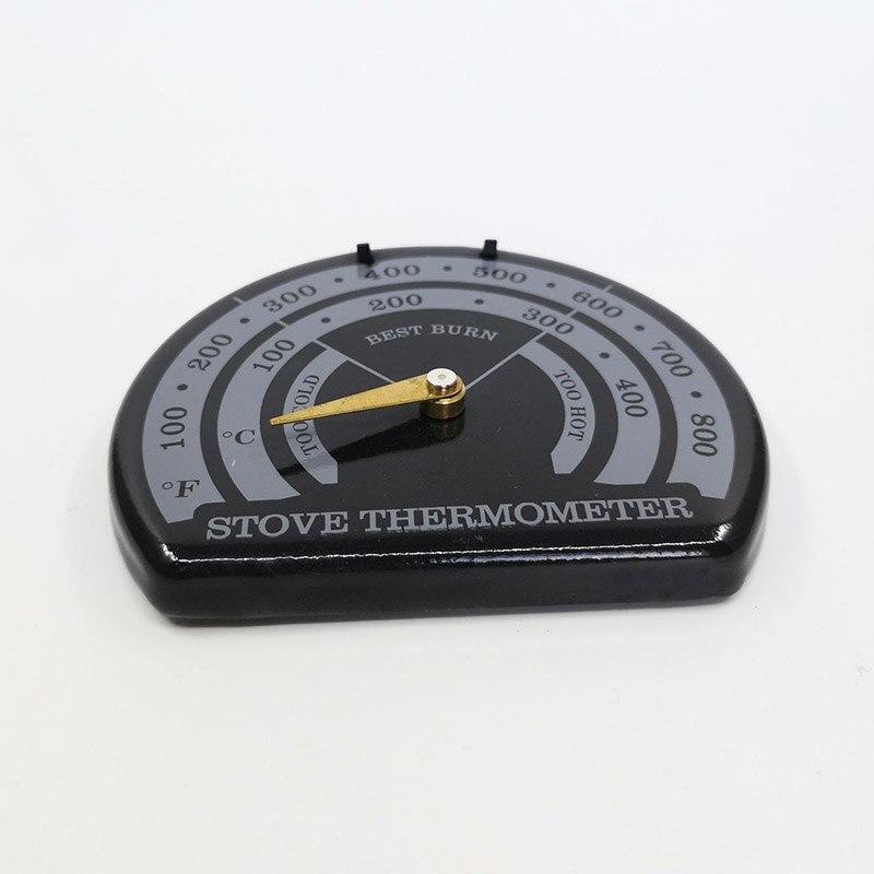 Печь трубы Магнитный термометр дровяного бревна сжигание огненных дымовых горелок нагреватель Датчик