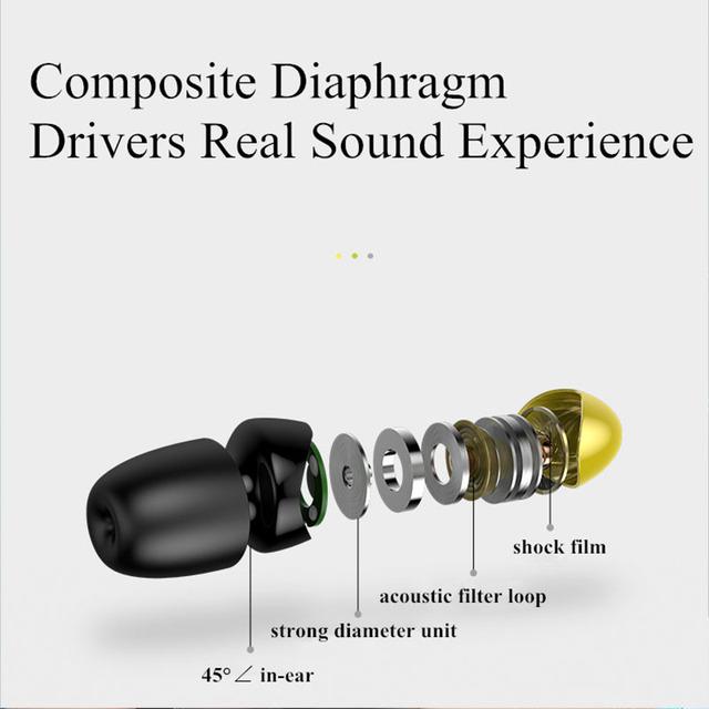 Bullet Cellular Earphone Hifi Stereo Bass In ear