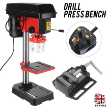 300W Drill Press Bence Adjustable High Speed Bench Drill Drilling Vertical Drill Chuck DIY Working Drilling Machine Tool