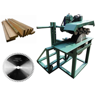 Woodworking cutting machine Multiple chip saw machine electric small mobile Industrial