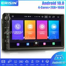 Erisin Car Stereo Multimedia Player 2 Din Universal Autoradio DAB+ Android 10.0 DSP CarPlay GPS Bluetooth