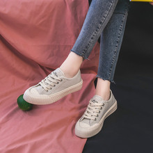 Female Casual Shoes New Women's Flat colorful Student Canvas