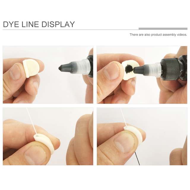 Safe Thread Semi Permanent Dyeing Liners Positioning Measuring Tool Bow Ruler Make Up Microblading Auxiliary Mapping Eyebrow 2