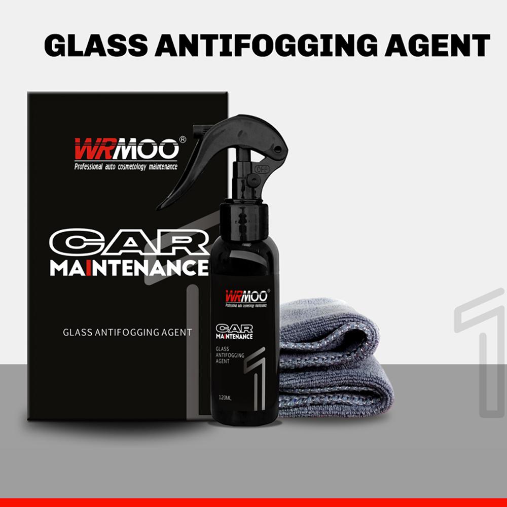 120ml Anti fog Waterproof Agent Kit Rearview Glass Protective Film Kit Car Windshield Mirror Rainproof Cleaner Auto Accessories