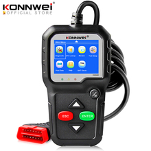 OBD2 Scanner Auto-Diagnostic-Tool Language KONNWEI KW680S Russian 2-Car