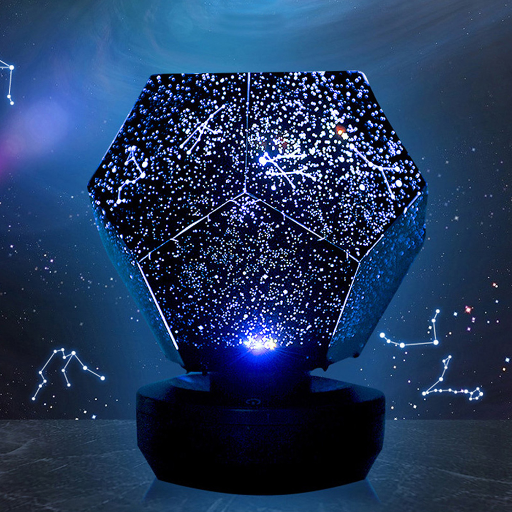 Romantic LED Starry Night Lamp 3D Star Projector led night Light for children Bedroom Constellation Projection Home Planetarium