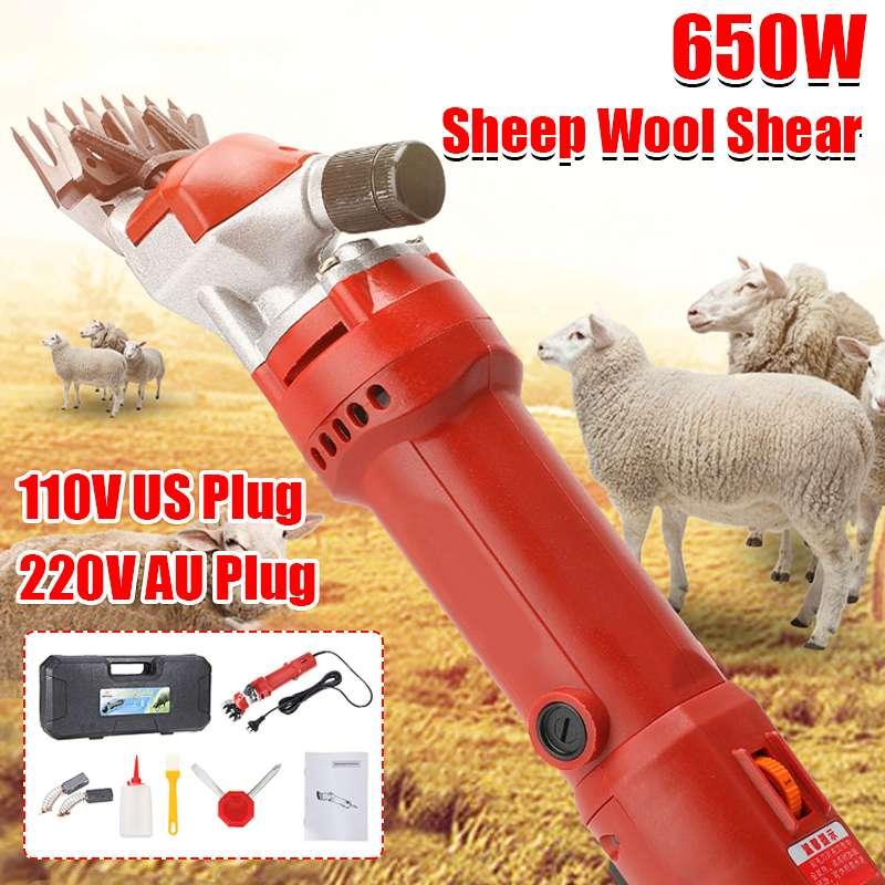 1080W Electric Wool Shear Shearing Sheep Goats Clipper Pet Trimmer Tool EU