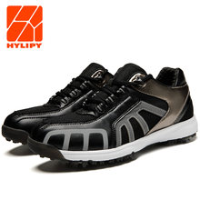 Мужские кроссовки для гольфа белые дышащие водонепроницаемые