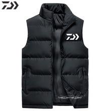 Мужская куртка для рыбалки без рукавов Daiwa, водонепроницаемая, для улицы, термальная, зимняя одежда для рыбалки, для пеших прогулок, велоспорта, ветрозащитная одежда