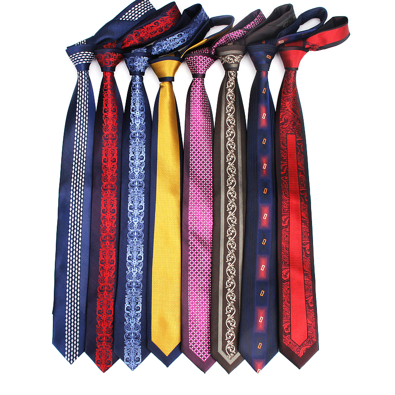 Men's Slim 6cmTie Plaid Patterned Patchwork By Vertical Striped Ties For Men Skinny Neck Tie For Wedding Party Vintage Neckties