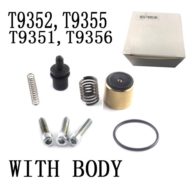1.4 TSI için evrensel oto alüminyum parçası DV + ayrıştırma vanası Ikiz Şarj Motorları ile TMS avantajı BOV-T9355-BK