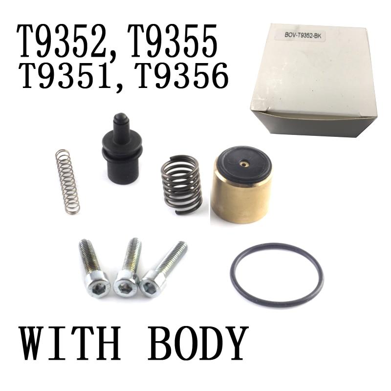 Pieza Universal de aluminio para automóvil DV + válvula desviadora para 1,4 TSI 1,8 TSI 2,0 TSI motores con carga doble BOV-T9352, T9351, T9355, T9356