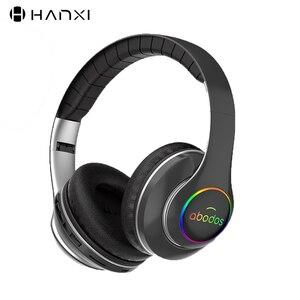 Image 1 - 1000 7000mah ワイヤレス Bluetooth ヘッドフォンポータブル軽く折りたたみの Bluetooth 5.0 ステレオヘッドセットマイクのサポート Tf カード FM ラジオ