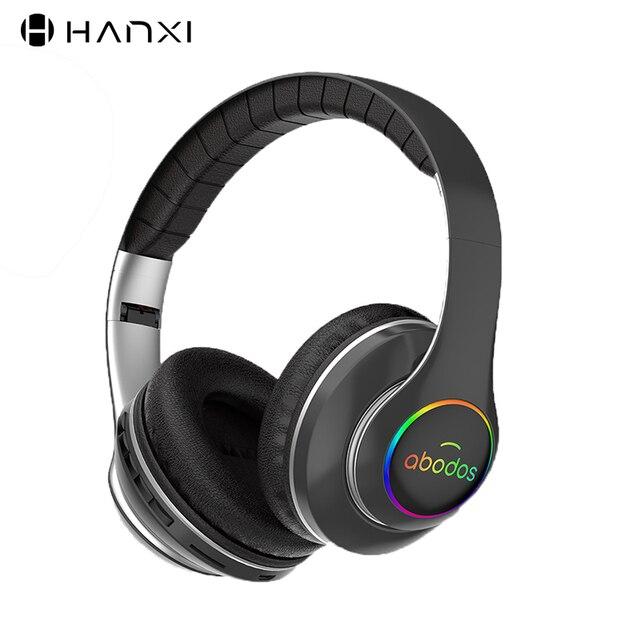 1000 7000mah ワイヤレス Bluetooth ヘッドフォンポータブル軽く折りたたみの Bluetooth 5.0 ステレオヘッドセットマイクのサポート Tf カード FM ラジオ