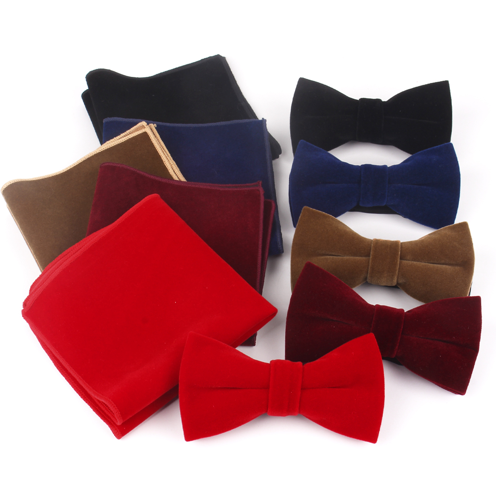 Men Bow Tie Classic Solid Bowtie For Men Women Adult Bow Ties For Wedding Party Butterfly Suits Cravats Bowties
