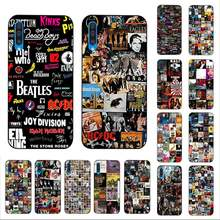LVTLV klasyczne albumy Rock And Roll Collage by 2018 etui na telefon do Samsung A10 20s 71 51 10 s 20 30 40 50 70 A30s okładka(China)