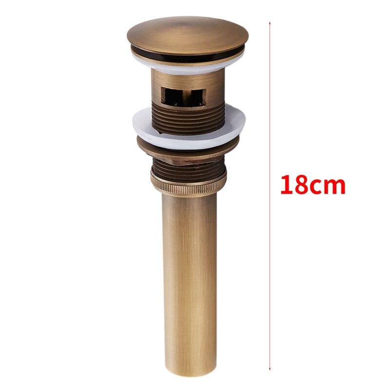 Ванная комната сосуд до раковины сливной фильтр Флип Топ стопор для туалета бассейна антикварные доступны для предотвращения засорения