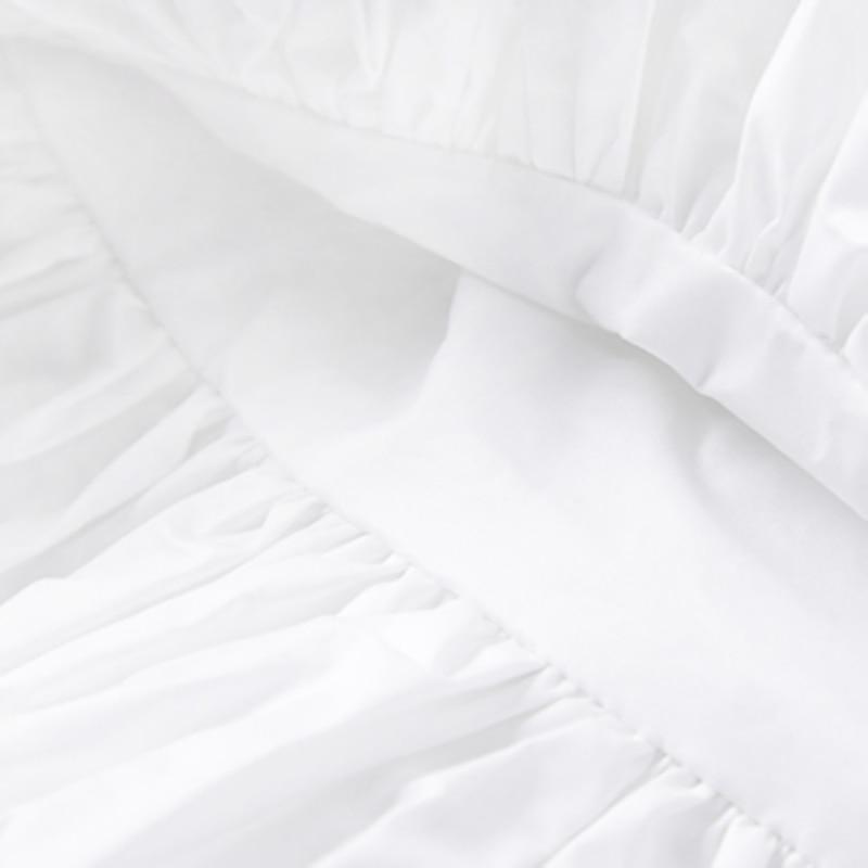 Lato wszystko mecz Bud Mini spódnica Woamn 2021 nowa redukująca wiek suknia balowa Kawaii spódnica nowe fałdy zaprojektowany biały Faldas Mujer