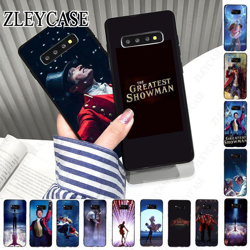 Étui de téléphone le plus grand Showman pour samsung galaxy s10plus s10e s10lite s9 s8 plus s20plus s7 s6 edge s20ultra