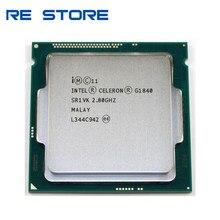Procesador Intel Celeron G1840 usado, 2,8 GHz, 2M, caché, Dual-Core, SR1VK, SR1RR, LGA 1150, bandeja
