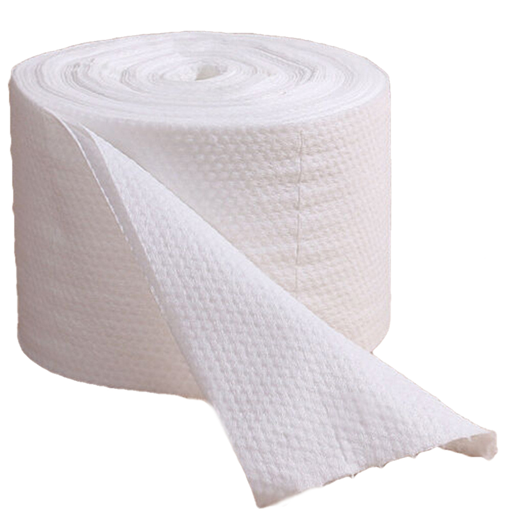 Disposable Face Towel Roll Soft Dry And Wet Cleansing Towel Beauty Towel Cleansing Makeup Remover Cosmetic Facial Cotton Pad