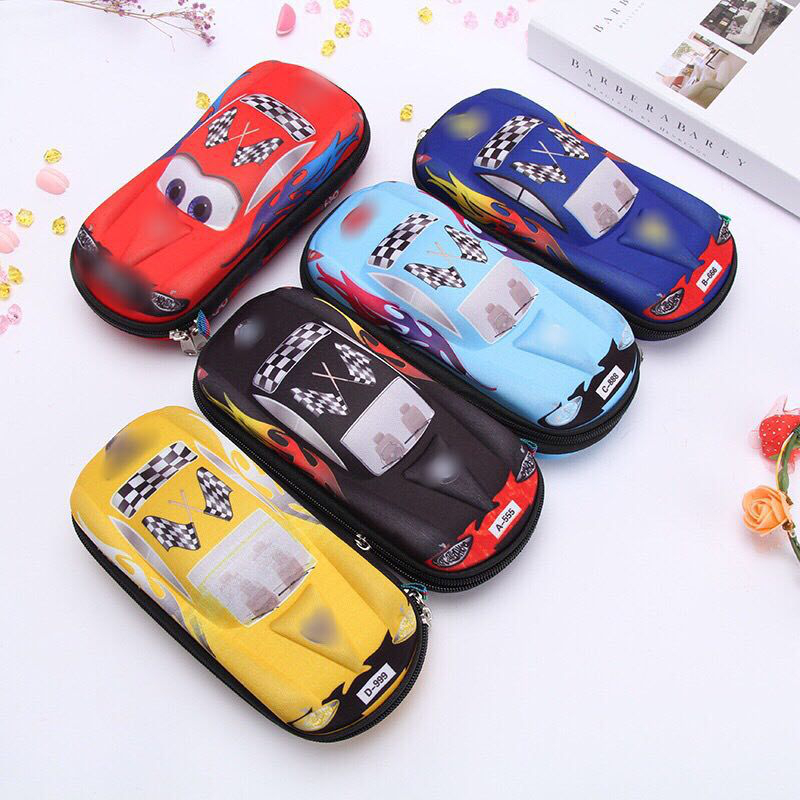 Cute School Pencil Case For Boys And Girls Cartoon Car Pencil Case 3d Eva Kawaii Pen Case For Childres Best Gifts For Your Kids
