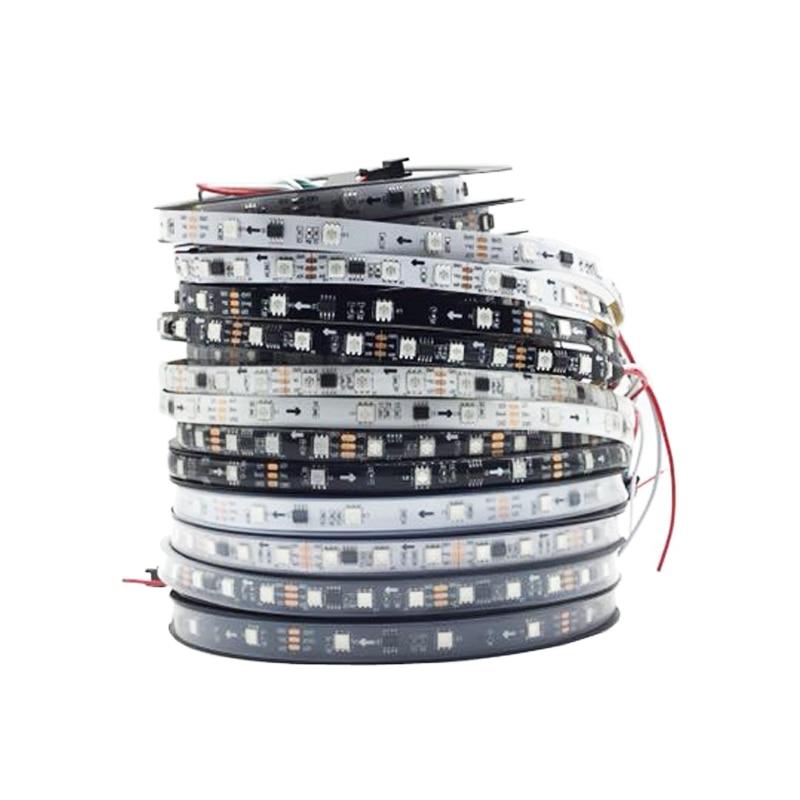 WS2811 RGB Led Light Pixel Strips Addressable 30/60/Leds/m Led Pixels External 1 Ic Control 3 Leds Home Decoration Christmas 5m