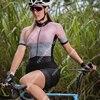 Ciclismo skinsuit das mulheres manga curta bicicleta wear macacão conjunto de bicicleta roadbike mtb roupas ciclismo terno ir pro 10