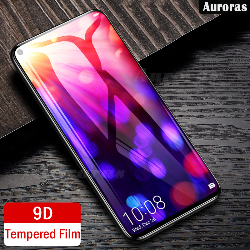 Auroras For OPPO A72 Screen Protector Tempered Glass Film For OPPO A52 9D Full Cover Screen Film