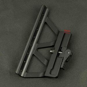 Image 3 - Soporte táctico CNC de liberación rápida AK para pistola de Rifle, accesorio para caza, puntero rojo, AK 47 AK 74, Picatinny