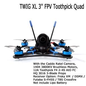 Image 1 - BETAFPV Dron teledirigido con cámara y palillos de dientes, cuadricóptero teledirigido de 3 pulgadas con cámara de 5,8G VTX 1404 3800KV, sin escobillas, 12A F4 2 4S AIO BNF, compatible con 4S Lipo RC