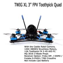 Betafpv Twig Xl 3 Fpv Tandenstoker Camera Drone 5.8G Vtx 1404 3800KV Borstelloze 12A F4 2 4S Aio Bnf Ondersteuning 4S Lipo Rc Quadcopter