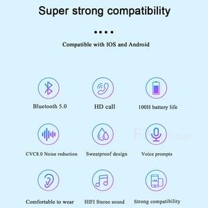 Image 5 - FANGTUOSI 2020 New stereo bluetooth headset sport bluetooth kopfhörer drahtlose kopfhörer Mit 2200mAh ladestation