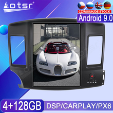 For Mitsubishi Lancer 2007 2008 2009   2017 Car Multimedia Tape Radio Recorder Video Player PX6 Android GPS Navigation Head Unit