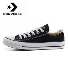 Converse – Chuck Taylor All Star Core, baskets de skateboard unisexes, chaussures de sport classiques noires basses en toile
