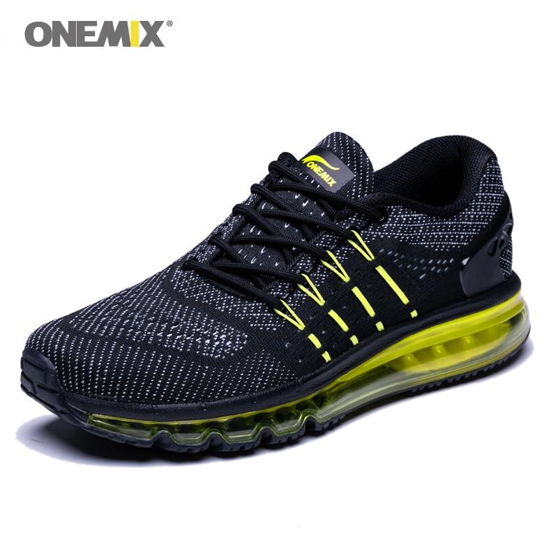 Onemix Air Mens Running Shoes Cushioning Unique Design Breathable Sport Shoes Athletic Outdoor Sneakers Men Zapatos De Hombre
