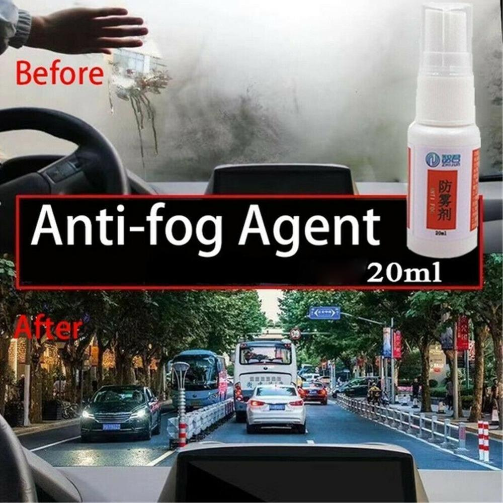 Anti Fog Agent Super Hydrophobic Cleaner Fog Repellent Spray Car Windshield Glass Liner Repellent Agent Rearview Rain Repellent