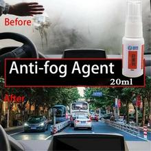 Anti Fog Agent Super Hydrophobic Cleaner Fog Repellent Spray Car Windshield Glass Liner Repellent Agent Rearview Rain Repellent 8in1 nm cage cleaner cleansing and deodorizing agent for small animal cells spray 710 ml 5057846