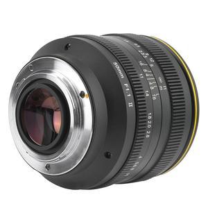 Image 5 - Kamlan 50Mm F1.1 Ii APS C Grote Diafragma Handmatige Focus Lens Voor Canon M/Sony E/Fuji X/M43 Mirrorless Camera S Lente Para Celular