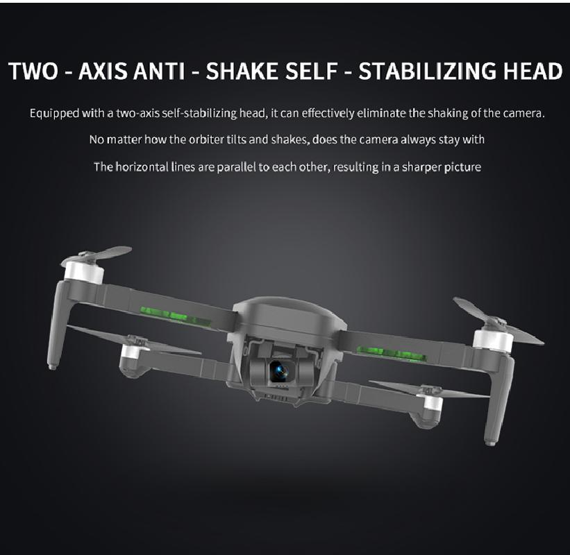 193pro Gps Drone With 5g Wifi 4k Camera Two-axis Self-stabilizing Gimbal Brushless 4k Profesional Quadcopter Rc Dron Vs Sg906pro