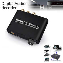 Extractor 2-Channel Converter Splitter Support Audio Optical-Spdif Hdmi-Compatible Analog